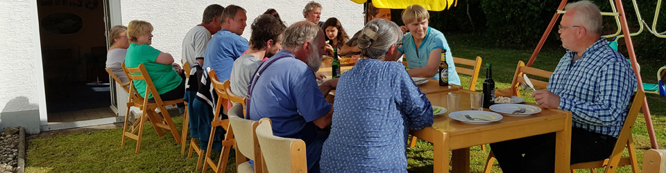 Chrischona Gemeinschaft im Garten