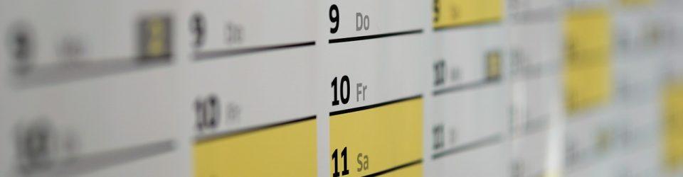 Kalender der Chrischonagemeinde Bezirk Mücke