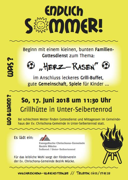 Sommerfest Chrischona-Gemeinde Mücke in Unter-Seibertenrod