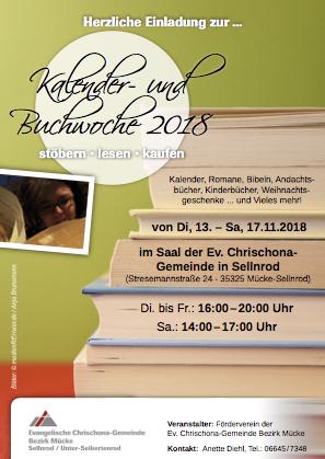 Kalenderausstellung in Mücke-Sellnrod